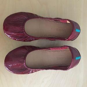 Tieks Shoes - Tieks Ruby Red Patent Flats